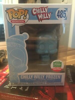 Funko Pop! Animation Chilly Willy Frozen Mint Condition
