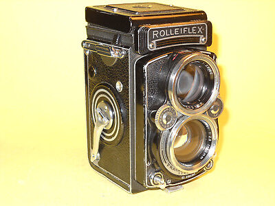 Rolleiflex 2,8 E2 - Model K7E2 - with Zeiss Planar lens, for parts or repair!