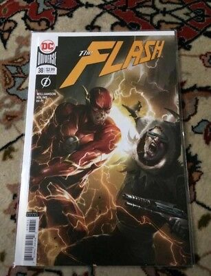 THE FLASH #38 - Francesco  Mattina Variant Cover - DC Comics