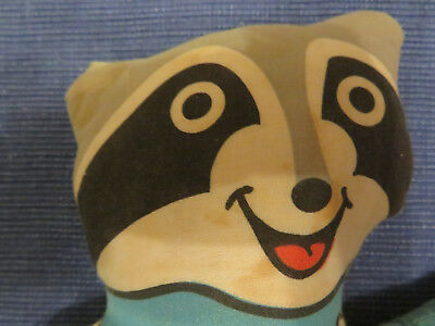 Rony the Racoon Maskottchen Olympische Winterspiele 1980 in Lake Placid, USA