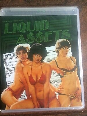 Liquid Assets Blu Ray/ Dvd Vinegar Syndrome