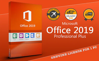 Microsoft Office 2019 Professional Plus Lifetime Key For 1PC - Original Source