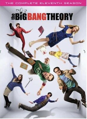 The Big Bang Theory The Complete Season 11 DVD [Brand New Sealed] Free Shipping!