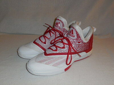 Adidas SM on Court Crazylight Boost 2 Basketball Shoe (WHITE/RED) MENS 14