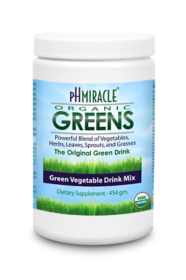 PH Miracle Greens 227g Original product by Dr Robert Young