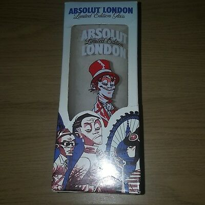 Limited Jamie Hewlett Absolut vodka Glass