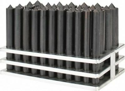 """Value Collection 33 Piece Transfer Punch Set 1/2 to 1"""" Round Shank"""