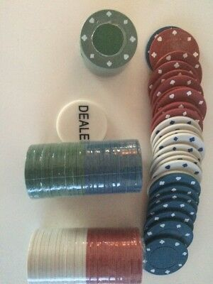 90+ Poker Chips Poker Chips Cards gambling accessories dealer tokens casino