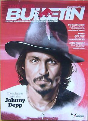 RED BULLETIN Januar 2011 Johnny Depp