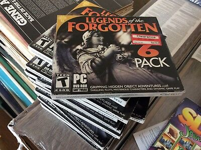 BRAND NEW SEALED lot of 15 games  Legends of the Forgotten PC DVD Rom A
