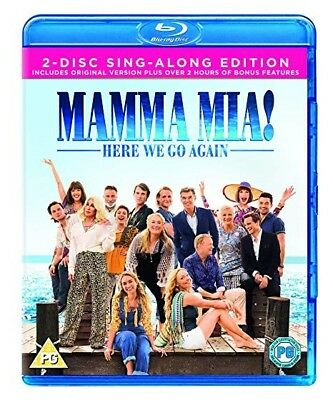 Mamma Mia Here We Go Again Blu-Ray [2-Disc Sing-Along Edition]