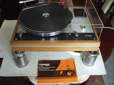 THORENS TD160B MkI - OWNERS MANUALl-  MANY EXTRA'S - MUCH IMPROVED & STUNNING!