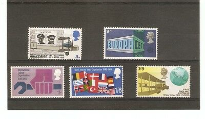Anniversaries, Events Described on Stamps. 02-04-1969.  See Scan.