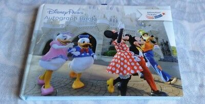 disney parks autograph book mickey minnie donald daisy goofy