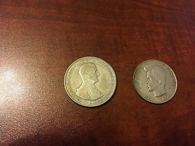 Hungary 5 Pengo 1930 & 5 Forint 1948-49 Silver Coins