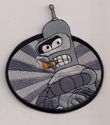 Parche Futurama Bender   Patch