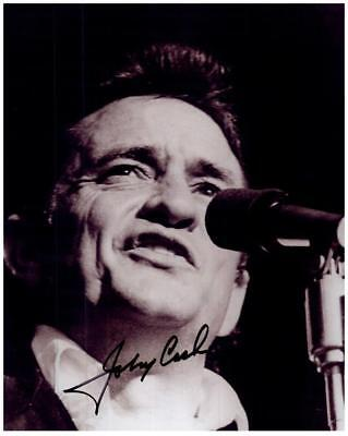 JOHNNY CASH Original Authentic Autographed Signed Photo w/COA