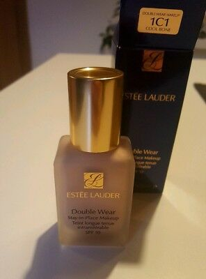 NEU + OVP Estee Lauder Double Wear Stay in Place Makeup Foundation SPF Cool Bone
