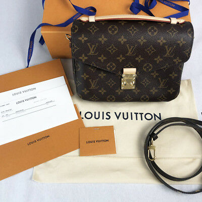 02730fe62af3c Louis Vuitton Pochette Metis Monogram Canvas M40780 BRAND NEW with Receipt