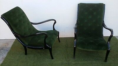 Ezio Longhi Pair Of Armchairs '50