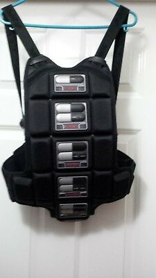 Size Small Kompakt Motorbike Knox Back Protector Armour with carry bag too
