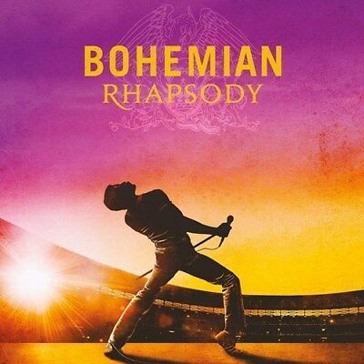 Queen - Bohemian Rhapsody Film / Movie Soundtrack CD ALBUM Freddie Mercury