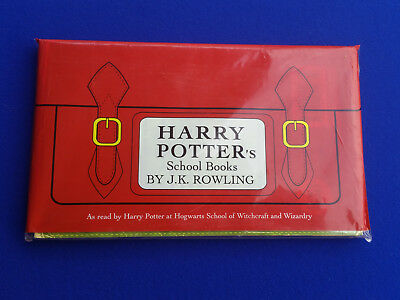 HARRY POTTER'S SCHOOL BOOKS Fantastic Beasts Quiddith 1ST Edition 1ST PRINTINGS