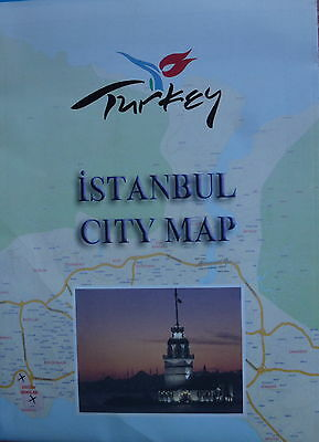 ISTANBUL City Map - Rail Map - Free UK Postage