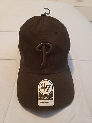 finest selection 8f4c8 7ae3d Pittsburgh Pirates 47 Brand Clean Up Strap Adjustable On Field Black Hat  Cap MLB