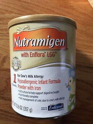Nutramigen 12.6 Oz Brand New 6 Cans Varying Expirations Earliest 06/01/2019