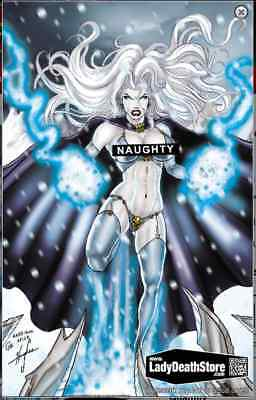 Lady Death The Reckoning #1 Tribute Naughty Edition Sold Out! Signed Limited 100