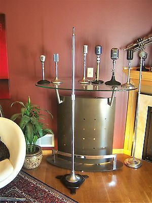 Vintage RARE 1940's Atlas MS-24 Professional microphone floor stand old used # 3