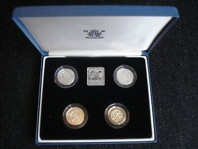 Royal Mint 1994 - 1997 Silver Proof £1 Collection