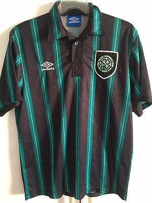Extremely Rarity Umbro Celtic Glasgow 90's Trikot Large Vintage
