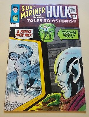 19-C00053: Tales to Astonish # 72, 1965, FN+ 6.5! See Promo!