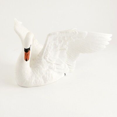 """Lenox The Majestic swan Ivory China Edition - large 12"""" x 8"""" x 4.5"""" tall"""