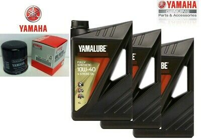 Replacement Kit Yamalube Fs Oil Filter Yamaha Xj6 R6 600 100% Synthetic 10W40