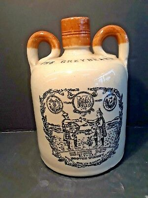 THE GREYBEARD Heather Dew Blended Scotch Whisky Jug Stoneware Scotland