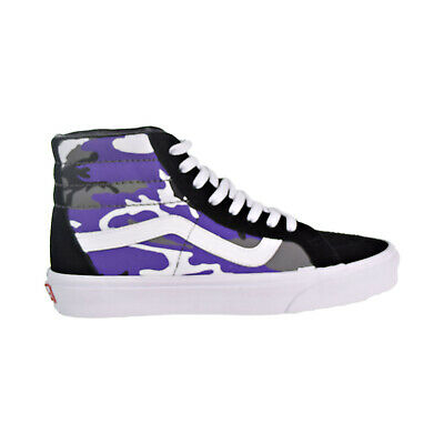 VANS POP CAMO SK8 Hi Reissue Size 8-13 Purple Black Heliotrope True ... be62d6327