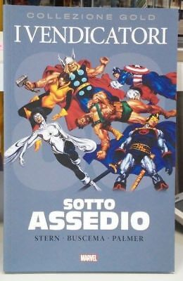 Marvel Gold: Vendicatori Avengers SOTTO ASSEDIO (Buscema, Stern) PANINI