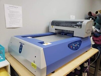 e8c75ca3 Omniprint Freejet 330tx Plus DTG Direct-to-Garment Printer Barely used!