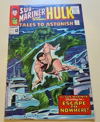 19-C00060: Tales to Astonish # 71, 1965, F- 5.5! 2nd SUBBY in Series See Promo!
