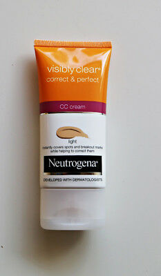Neutrogena Visibly Clear Correct & Perfect CC Cream Light