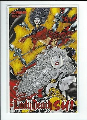 LADY DEATH SHI Preview Attack Ltd to 1000 VF-NM Avatar Press
