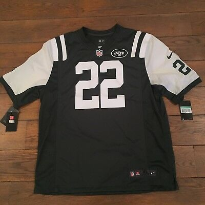 NIKE NFL NEW YORK 22 MATT FORTE XL Vert Football Americain Neuf