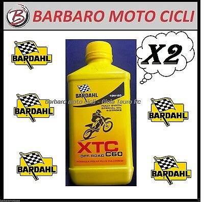 2 L Engine Oil Bardahl Xtc C60 4T Sae 10W50 Motorrad Cross Enduro Offroad Oil