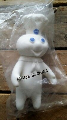 "Vintage Pillsbury Dough Boy 1971 Rubber Doll 7.25""- Swivel Head- Factory Sealed!"