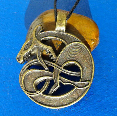 Vikings and Celtic Amulet  Snake Jörmungandr. Reproductions.