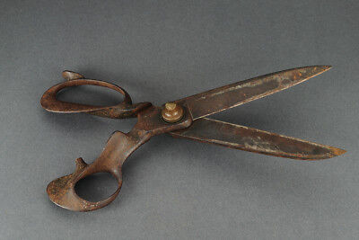 Antique tailor's scissors, antike Schneiderschere, Marx & Co., around 1900