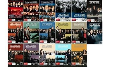 Law & And Order SVU Complete Series Seasons 1-17  DVD Set